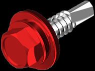 """Винт DIN 7504K самосверлящий (TEX) + шайба EPDM окрашенный RAL (для металла) """